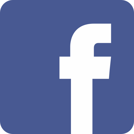 Logo Facebook qui sert de lien pour visiter la page facebook du local training & squash